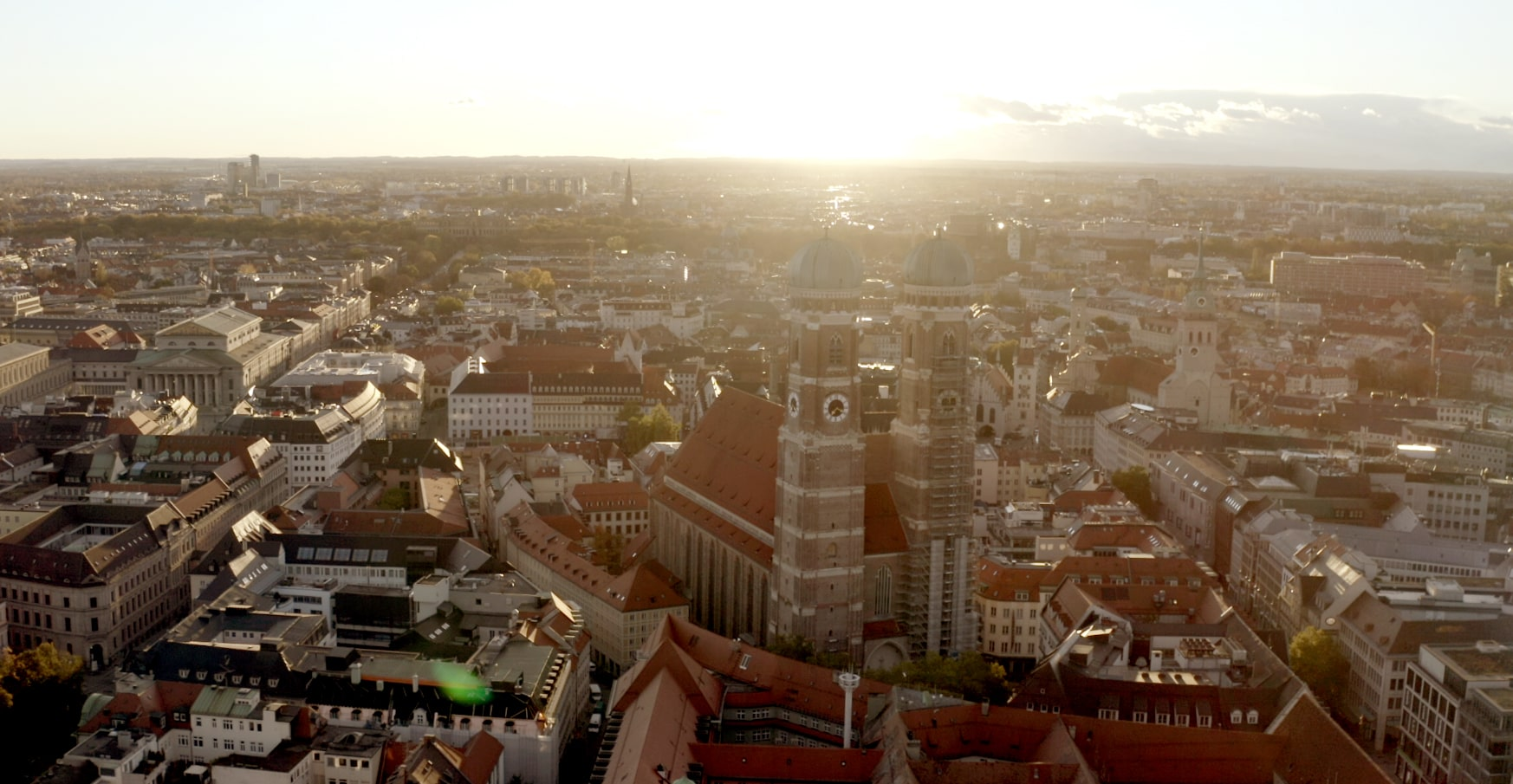 Das ist einer der Hauptdrehorte München